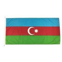 Günstige Aserbaidschan Nationalflaggen Hot Verkäufe Qualitäts-3x5ft Digital Printing Country Flags machen Von China