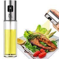 BBQ Cozinhar Vidro Oil Sprayer Vidro Oil Sprayer Olive bomba de aço inoxidável Garrafa de Spray Oil Sprayer Can Jar Pot Cozinha Ferramenta GGA3762-3