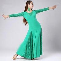 Vestido de la competencia de la danza de la danza del salón de baile de la danza moderna de la danza de la danza del salón de baile de la danza moderna
