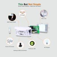 Versão atualizada Sonoff Basic R2 WiFi Smart DIY Switch Temporizador Suporte Ewelink App Automação Home Trabalho com Google Home Alexa