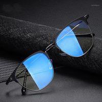 Lunettes de soleil 2021 Hommes Femmes Lunettes UV400 Lunettes de lunettes Bleu Blue Block Blocking Optique Clear Optique Femme Computer Mesdames Men's1