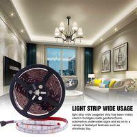 Entrega rápida 5M RGB 5050 impermeable LED tira luz SMD 44 Key Remote WiFi Luz inalámbrica Iluminación flexible