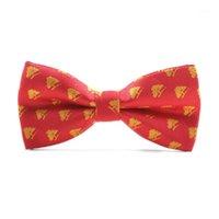 Высочайшее качество Рождественская галстука бабочка мужчины снежинки дерево Xmas Patternie Bowtie для мужских подарков Размер 12см * 6см Bowties1