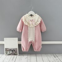 2021 New Girl Outfit Winter Infant Thick Warm Christmas Romp...