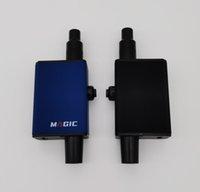 SOC Tokes Magic DAB Rig Type-C Titolo ricaricabile AirFlow Regolabile Ceramica Riscaldamento in ceramica con tubo di vetro ad adattatore congiunto maschio 14mm