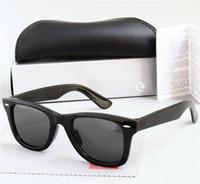 Nuovi occhiali da sole lenti polarizzati di alta qualità vintage pilota pilota UV400 protezione da uomo da donna occhiali da sole moda occhiali da sole con custodia 2140