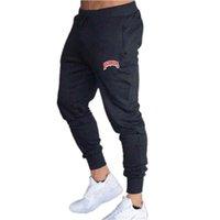 Erkek Joggers Rahat Pantolon Fitness Erkekler Spor Giyim Eşofman Dipleri Skinny Sweatpants