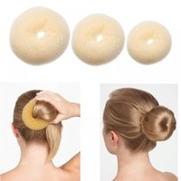 Hair Bun Maker Donut Magic Foam Sponge Easy Big Ring Hair Styling Tools Products Hairstyle Hair Accessories For Girls Women Lady