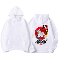 2019 Buddha guindaste Printed Pullover Hoodies dos homens de Hip Hop Chinese Character Casual Tops japonês Streetwear camisola