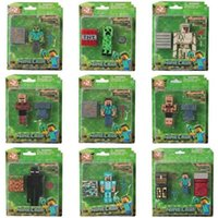 Blocks Mine My Puzzle World Christmas For Creeper Toys Model Gifts Him Building Man Minifig Children Bricks Minecraft Assembly Boy Ghas Ampm