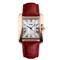 Montres Mesdames Femmes 2021 Bracelet en cuir Quartz Montres à bracelets pour Lady Skmei Custom Custom Luxury Montres Meilleur cadeau Chinois Vente en gros