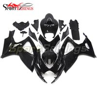 Complete ABS Bodywork For K6 GSX-R 750 06 07 Suzuki GSX-R 600 2006 2007 Autocycle Fairings Kit Injection Body Kit Black