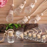 Woodiness Perfume frasco vazio artigos Originalidade Interior de carro pendant multi Designs cristal essenciais frascos de óleo Difusor 0 7QH K2