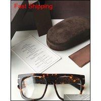Hottest Star Style 5634-B Flat-Top Sonnenbrille Rahmen Unisex Pure-Plank Großer Full-Rand 55-20-145 für das Rezeptglas Qylbjj Queen66