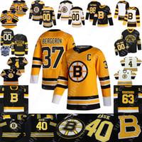 보스턴 Bruins Jersey David Pastrnak Brad Marchand Patrice Bergeron (C) David Krejci Tuukka Rask Nick Ritchie Charlie McAvoy Charlie Coyle
