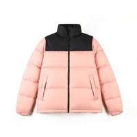 رجل مصمم رجل أسفل سترة مطبوعة الشتاء معطف الشتاء ريشة معطف معطف أسفل سترة S-2XL