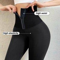 Athvotar Frauen Legging für Fitness Damen Push Up Sport Hohe Taille Legging Frauen Korsett Slim Leggings Sportbekleidung Hosen
