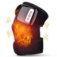 الركبة الكهربائية مدلك vibrador التدفئة البعيدة الأشعة تحت الحمراء الجسم المشترك الكتف الكوع هدفين دعم الركبة علاج الألم مساج