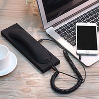 2020 Rétro protection contre les radiations de téléphone du combiné casque récepteur avec micro pour Combinés Retro Téléphone avec la base