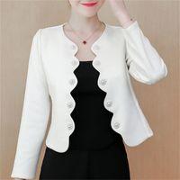 Coats And Autumn Long Sleeve Women's Jackets 3XL 4XL Plus Size Jacket Coat Women C122 Y201012