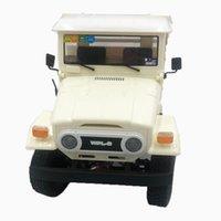 WPL C44KM الطبعة المعدنية UnAssembled Kit 1/16 4WD RC سيارة للأطفال الأولاد نموذج هدية على الطرق الوعرة مركبات بيضاء W / محرك سيرفو