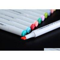2 세대 Finecolour 마커 펜 Finecolour 펜 스케치 핸드 페인트 아트 페인트 펜 160colors 선물 펜 HDB4R