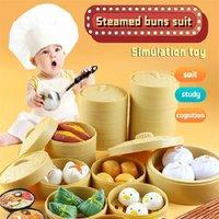Giocattoli da cucina bambini simulazione a induzione cucina cucina giocattoli educativi mini cucina cibo pretend gioca gioco ruolo gioco giochi ragazze giocattoli LJ201211