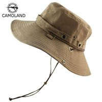 Cloches UPF 50 + 버킷 모자 여름 남성 여성 낚시 보노니 모자 태양 UV 보호 긴 큰 넓은 브림 밥 하이킹 야외 사파리