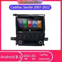 Acessórios para CAR GPS Android 8.1 para Sevilha SLS 2007-2012 Navegação Multimídia Viedo Player Head Unit Audio Estéreo TV1