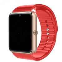 Sport Smart Uhren Android GT08 SIM Intelligent Handy Uhrenaufzeichnung SLEEP STATUS SMART Watch für Herren Frau PK U8 A11 DZ09