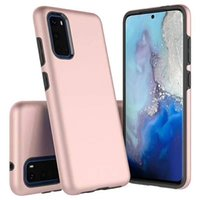 Dual Couche Hybride Slim Armor Case antichoc pour Samsung Galaxy S20 Ultra S10 Plus S10E Note 10 20 Peau de couverture dure