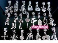 Vente en gros en vrac bas prix 100pcs Mixte Tibétain Argent Charms pour bijoux Faisant des charmes de bricolage en vrac pour bracelet européen