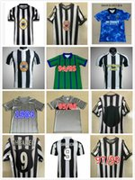 Top 1997 1998 Retro Fussball Jersey Shearer 9 Asprilla 11 Emre Owen Ketsbaia 95 96 Home Football Hemden 2005 06 Sweatshirt Edition Größe S-XXL