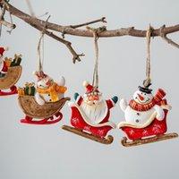 زينة عيد الميلاد الجوارب الحصان الأيائل شجرة الديكور المعلقات شنقا الحلي الحرف الهدايا عيد الميلاد السنة حزب الزفاف ديكور المنزل 63199