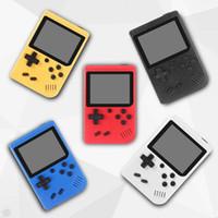 Mini portable Console de jeux vidéo portable bit Retro 8 MODÈLE CAN MAGASIN 400 en 1 couleur AV LCD Game Player pour jeu