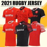 2020 2021 Galler Rugby Ulusal Takım Formalar Cymru Ev Kırmızı Uzaktan Erkekler Polo T-Shirt E Erkekler Rugby Eğitim Jesery Üniformaları S-5XL