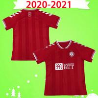 20 21 Бристоль Вейманн город Футбол трикотаж 2020 2021 Mawson Martin Diedhiou Paterson Wells Massengo Kalas Kalas Dasilva Футбольные рубашки красный
