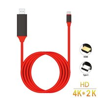 Type C to HDMI Cable USB 3.1 to HDMI 4K Adapter Cables for MacBook Samsung Galaxy S10 S9 S8 Note 9 Note10 Huawei USB-C HDMI Cable 2M