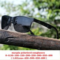 Diopter Finished Myopia Polarized Sunglasses Men Women Nears...