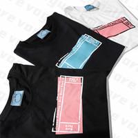2020 Bayan Tasarımcı Tişörtleri Mektup Çerçeve Baskılı Moda Kadın T-shirt En Kaliteli Pamuk Rahat Tees Kısa Kollu Luxe T Shirt