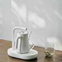 Electric Keetles JRM0093 Длиннопоточная Ручная толкающая кофейник Хозяева Бытовая Комната для чайника Установите температуру Управляйте Fine-рта1