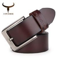 Cinturones de cinturón de los hombres Cinturones de diseño de cuero genuino para Hombres Moda de alta calidad Correa masculina vintage para Jaens Piel de vaca