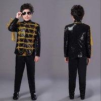Мужские костюмы Blazers Black Black Child Mens Designs Masculino Homme Stage детские певцы мужские блестки Blazer танцевальная куртка звездный стиль Englan