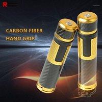 1 pair العالمي للدراجات النارية المقود اليد قبضة الألومنيوم cnc 22 ملليمتر موتو مقبض شريط اليد القبضات لل 848 1098 1198 2007-20131
