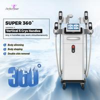 Cryolipolysis 기계 장비 슬리밍 캐비테이션 RF 슬림 셀룰 라이트 냉동 체중 감소 장치 살롱 사용