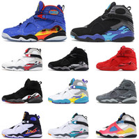 2020 Humpman x 8 8s Doernbecher Valentines Day Mens Basketball Shoes Satin Multicolor Designer Trainers Sneakers