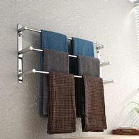 Spedito dal magazzino statunitense 3 layer 304 set di asciugamani in acciaio inox