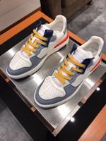 Alta Qualidade Barato Shoess Designers Sapatos Esportivos Sapatos Homens Lazer Sapatos de Lazer Pano e Couro Itertwined Moda Lazer Homens Preferredn
