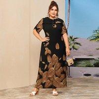 Artı Boyutu Vestidos Abaya Dubai Uzun Maxi Elbise Femme Robe Ette Giyim Elbiseleri Kadınlar Için Vestido De Mujer Ropa Noel Giysileri Q0111