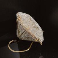 Luxuxqualitäts Bling kühle Daimond geformtes Metalic Fest Daimonds Form Abendtaschen Mini Audiere Frauen-Schulter-Handtaschen Q1113